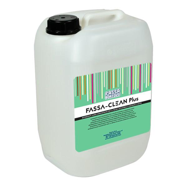 FASSA-CLEAN PLUS: Detergente ácido concentrado para la limpieza de revestimientos de cerámica y barro